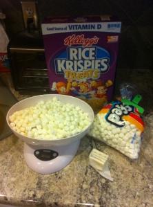 9 rice crispie ingredients