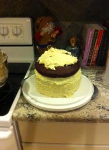 4 layer cake!
