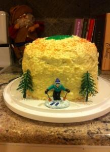 4 layer red velvet cake