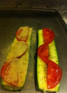 Zucchini tomatoes