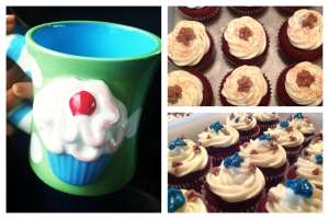 BR cupcakes