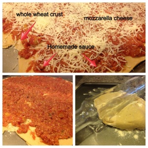 dark cho oat pizza