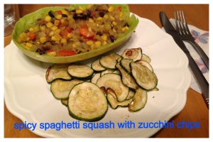 spaghetti squash plate