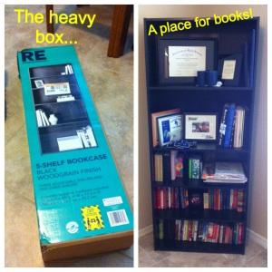 move book shelf