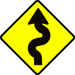 move winding road