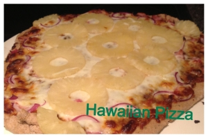 pizza bbq hawaiian pizza Cover