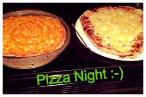 pizza night Cover