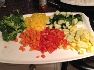 Thai veggies