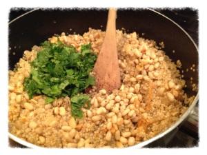 Quinoa with flavors