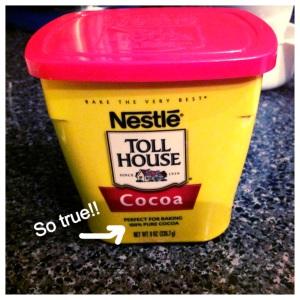 Choco Boiled cocoa