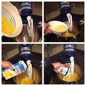 cornbread mixing